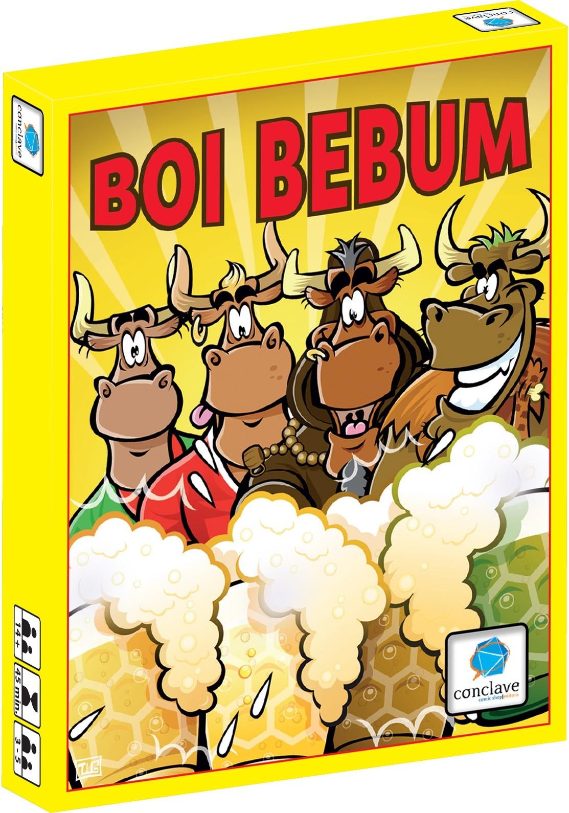 Boi Bebum - Jogo de Cartas - Conclave