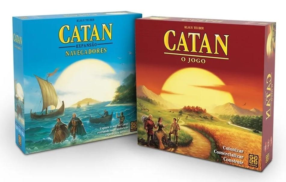 Combo Catan + Expansão Navegadores - Grow
