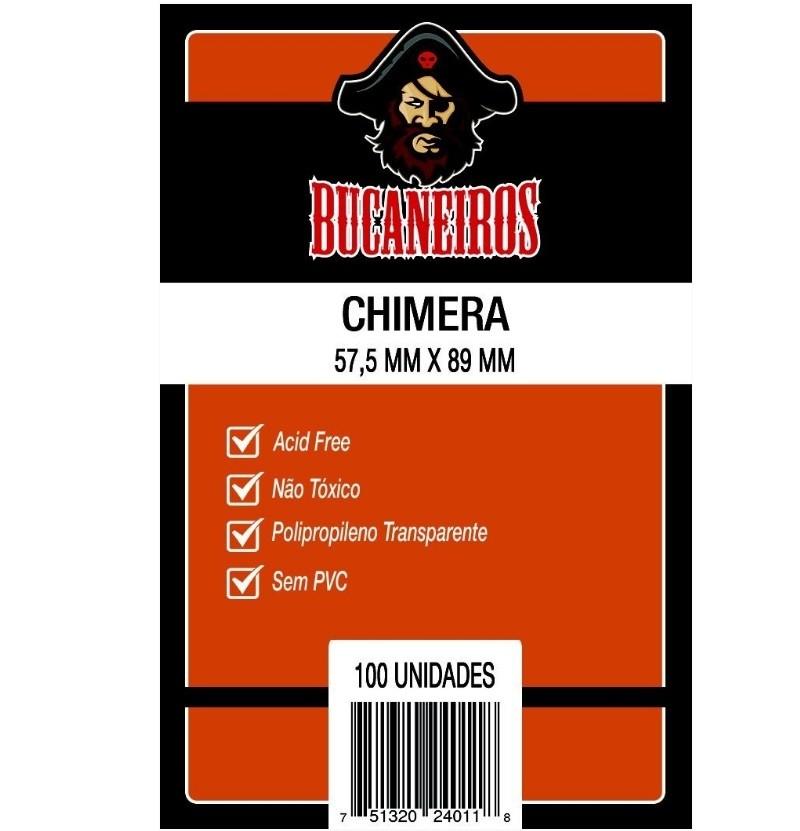 Sleeves: Protetor de Cartas CHIMERA (57,5x89) - Bucaneiros
