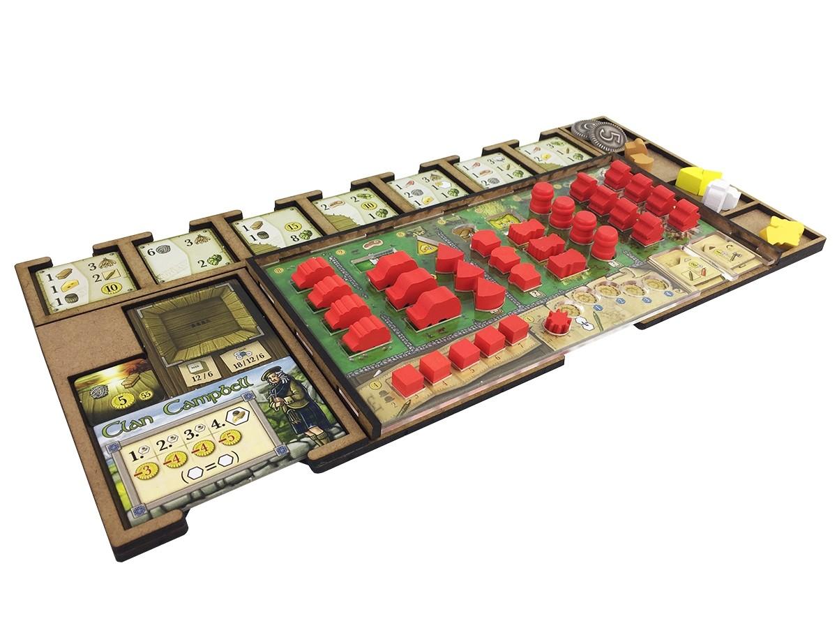 Kit Dashboard para Clans of Caledonia (4 unidades) - Sem Case - 1ª Tiragem - Bucaneiros