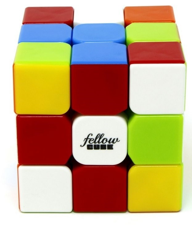Cubo Mágico Fellow Color - Cuber Brasil