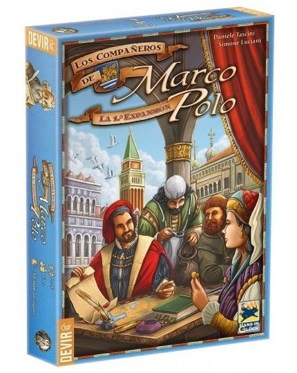 Os Companheiros de Marco Polo - Expansão - Devir