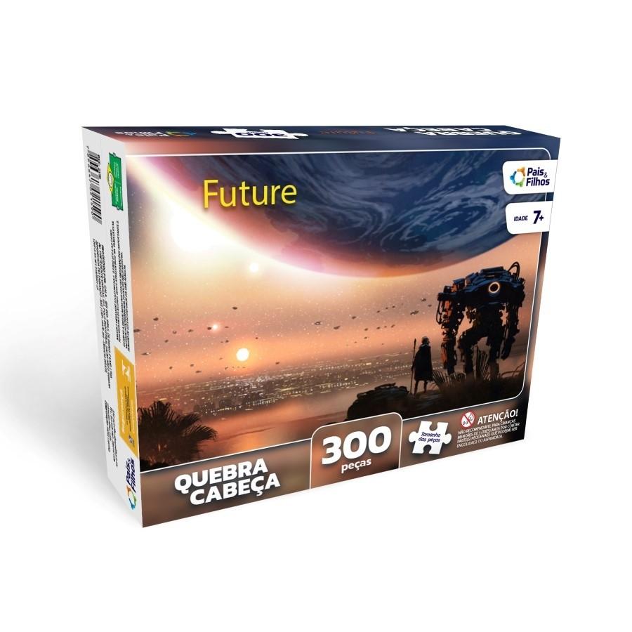Quebra Cabeça 300 peças Future - Pais e Filhos