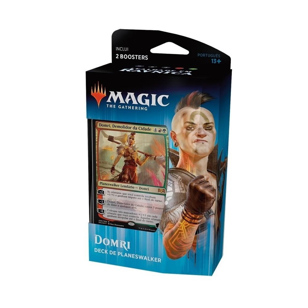 Magic MTG - Lealdade Ravnica - Deck de Planeswalker Domri (PT) - Wizards