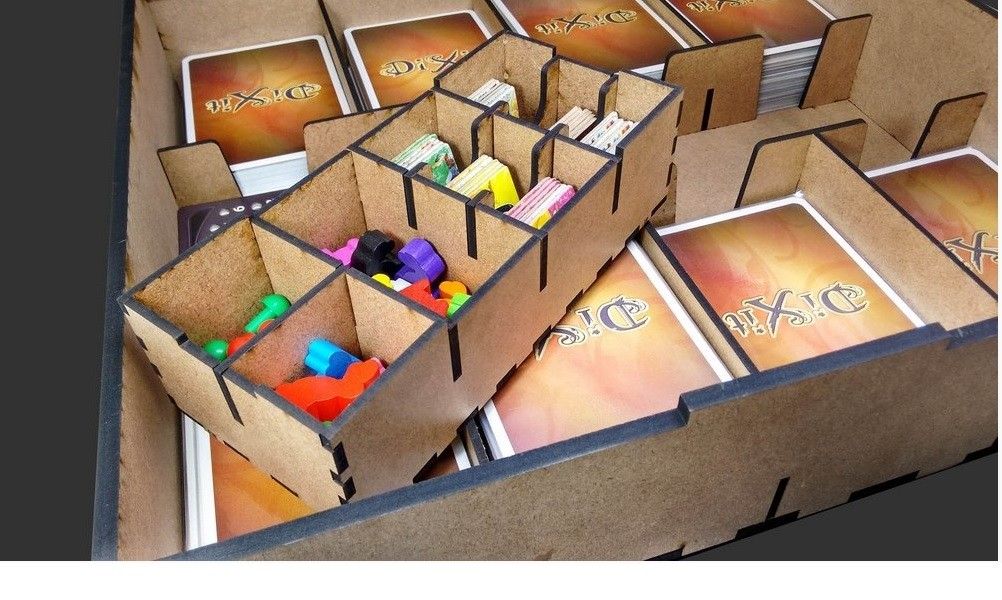 Caixa organizadora para Dixit - Bucaneiros
