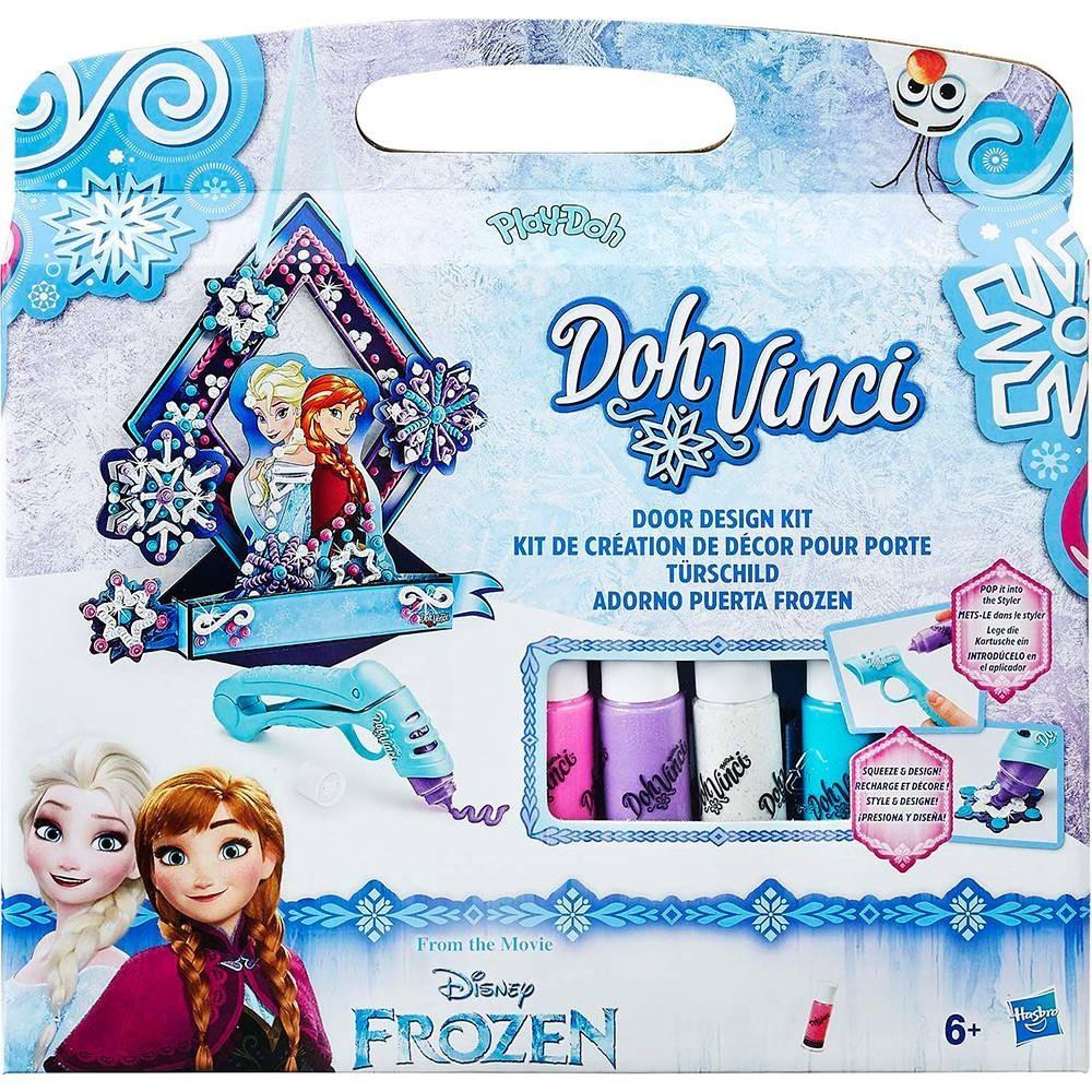 Conjunto Play-Doh Dohvinci - Enfeite de Porta Frozen  - Hasbro
