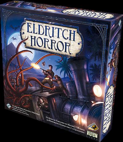 Eldritch Horror - Board Game - Galápagos