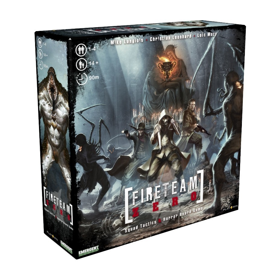 Fireteam Zero - Board Game - Meeple BR