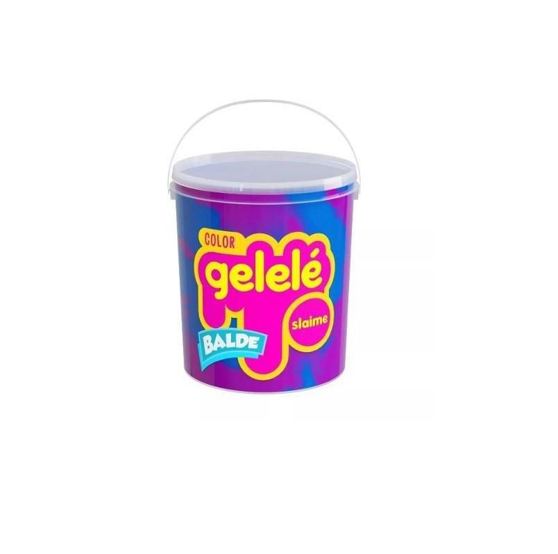 Kit Massinha Gelelé Slime c/ 5 Potes 457 g - Sortidos - Doce Brinquedos
