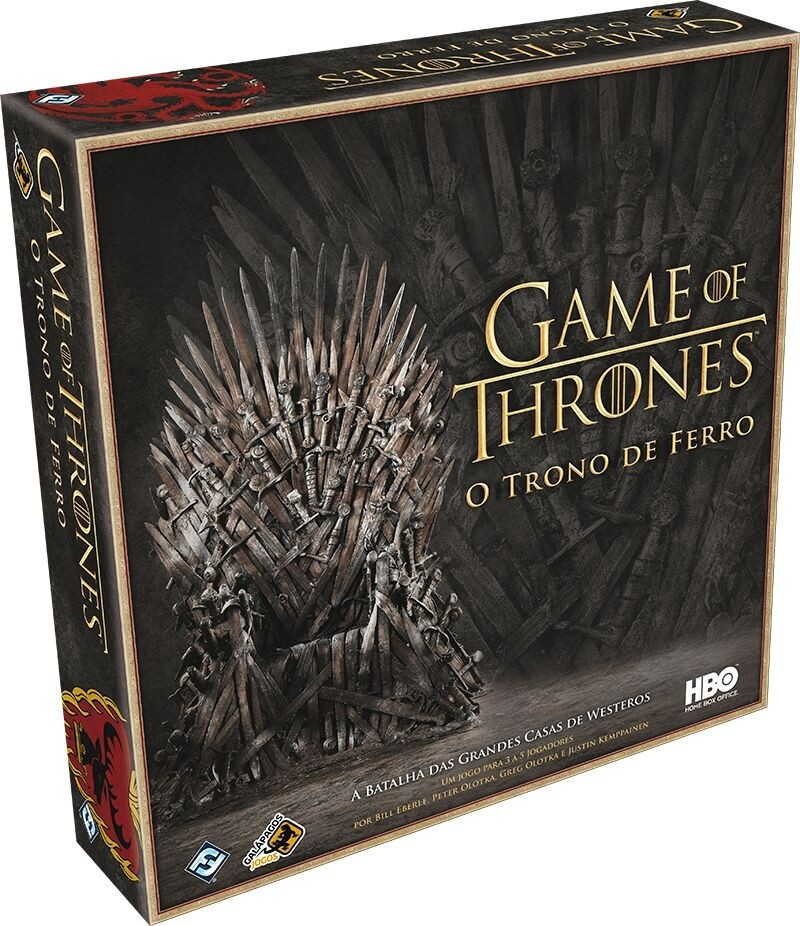 Jogo de tabuleiro Game of Thrones: O Trono de Ferro (Galápagos)