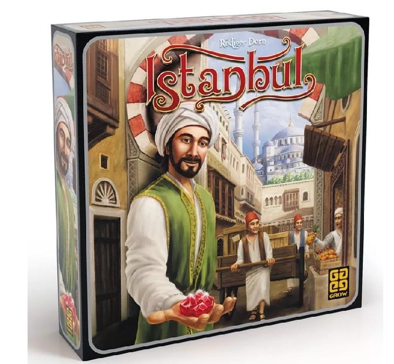 Istanbul Jogo de Tabuleiro Grow