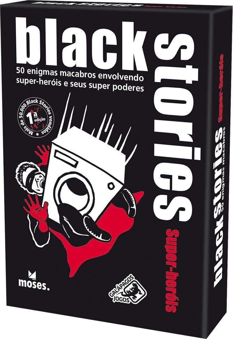 Black Stories Super-Heróis - Jogo de Cartas, Galápagos