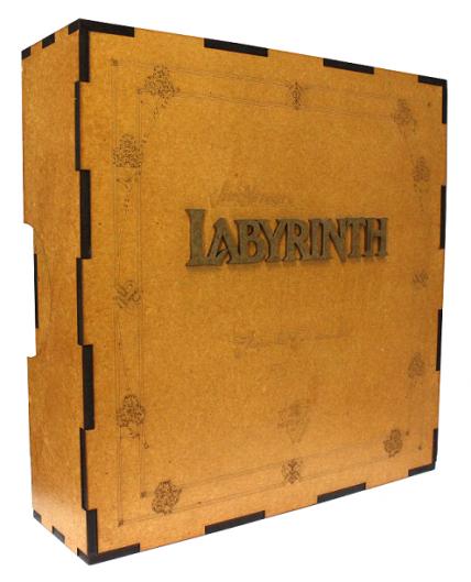 Labirinto - Jogo de tabuleiro (Boardgame) - Edição de Colecionador - Meeple Br