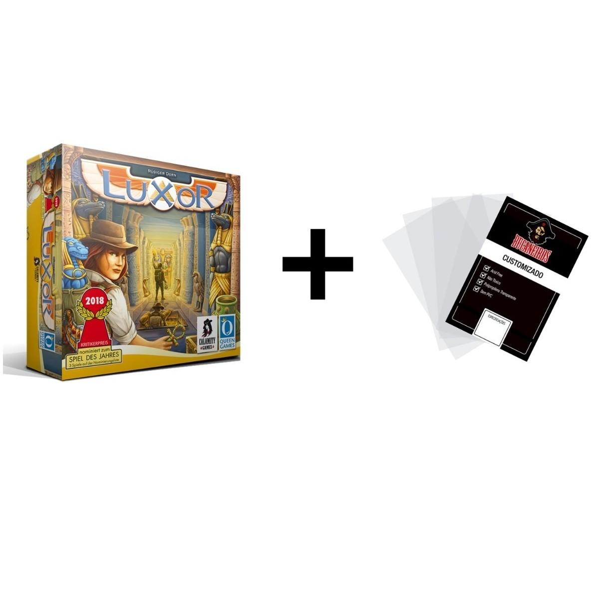 Luxor + Sleeve - Boardgame - Calamity