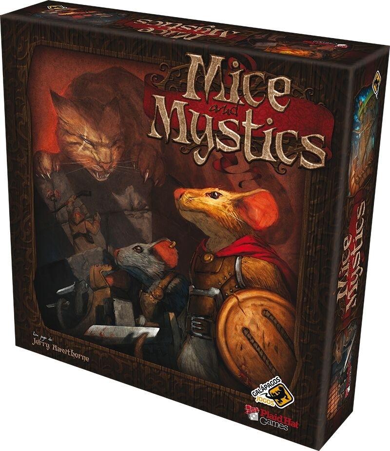 Mice and Mystics - Jogo de Tabuleiro - Galápagos
