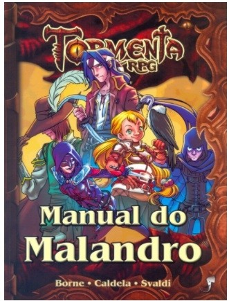 Manual do Malandro - RPG Tormenta - Jambô