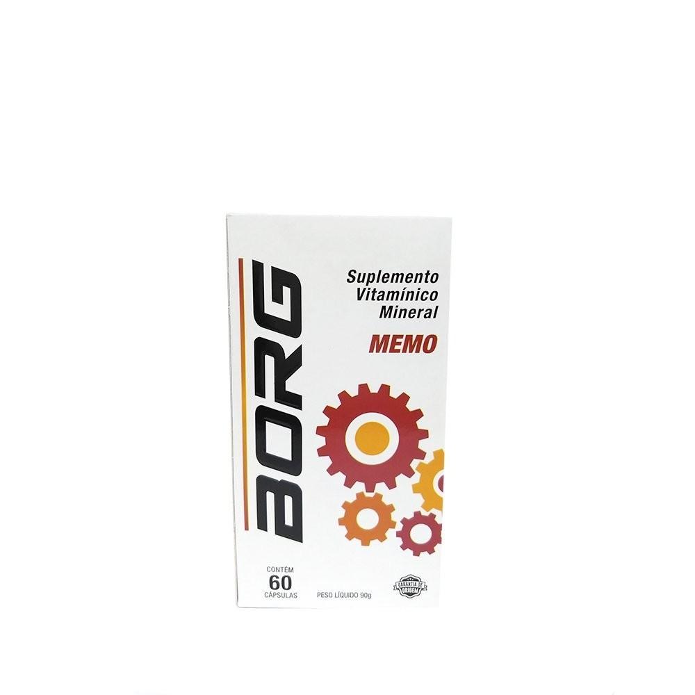 Suplemento Vitamínico Mineral Memo - BORG