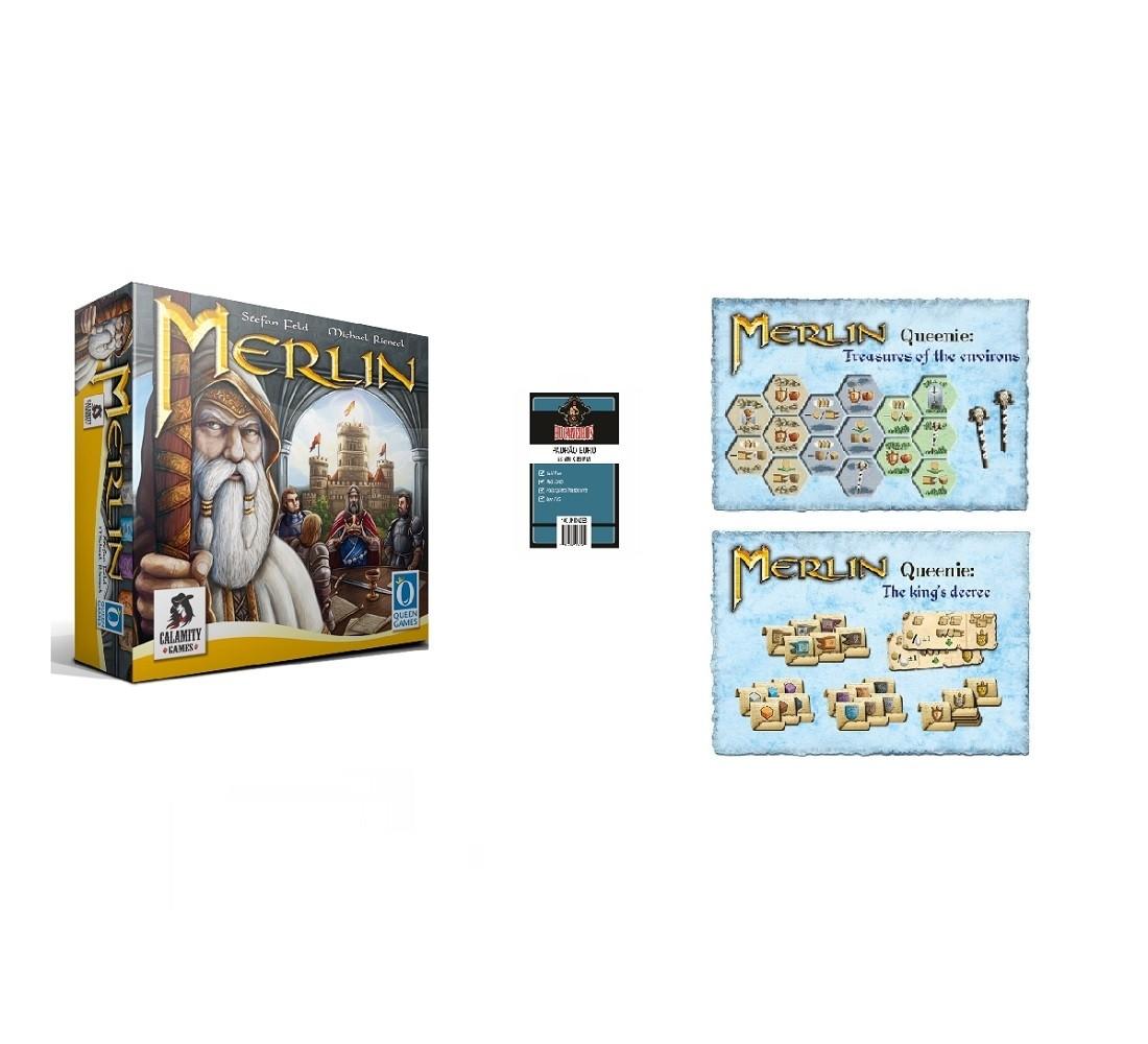 Combo Merlin + Queenie 1 e 2 + Sleeve - Calamity Games
