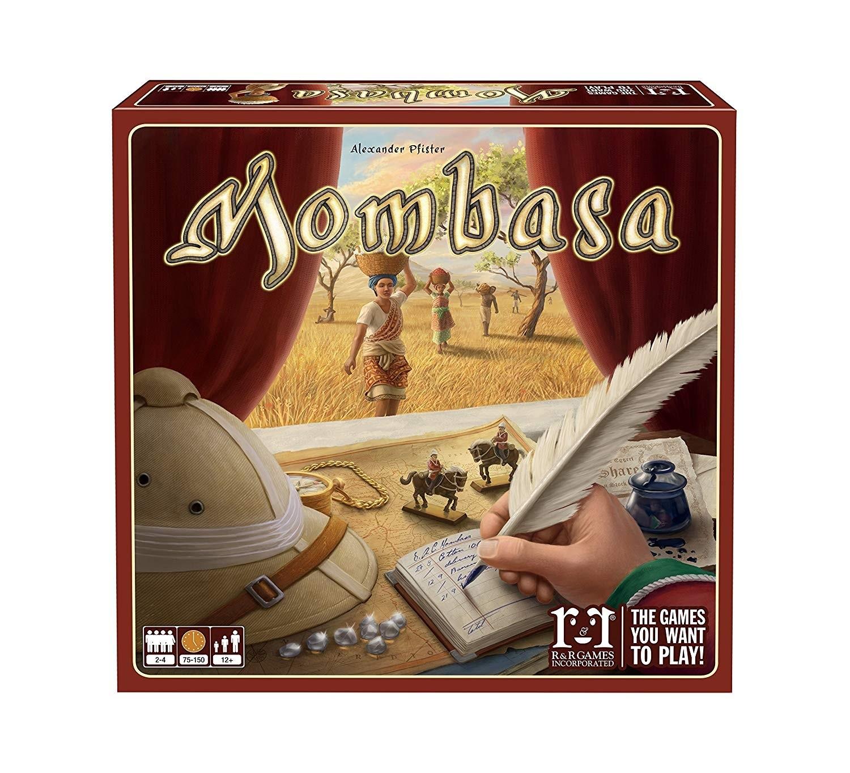 Mombasa - Jogo de Tabuleiro (Boardgame) - Meeple Br