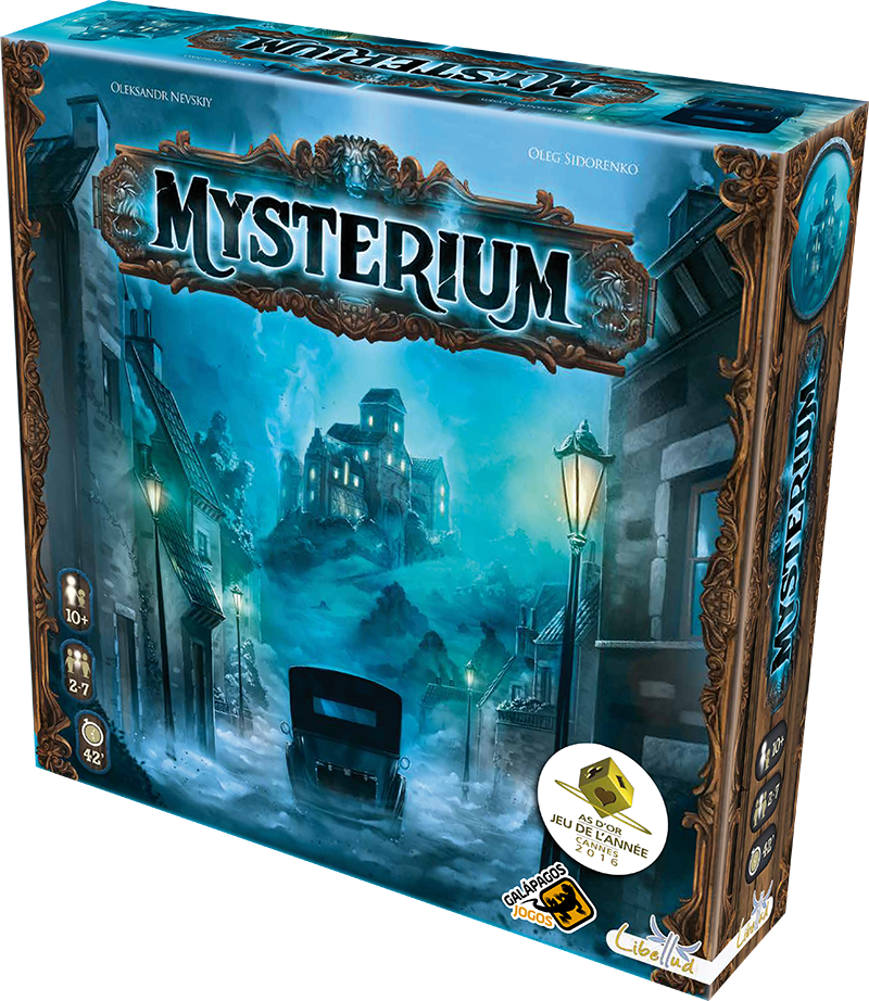 Mysterium - Board Game - Galápagos