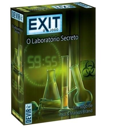 Exit:O Laboratório Secreto - jogo de cartas - Devir