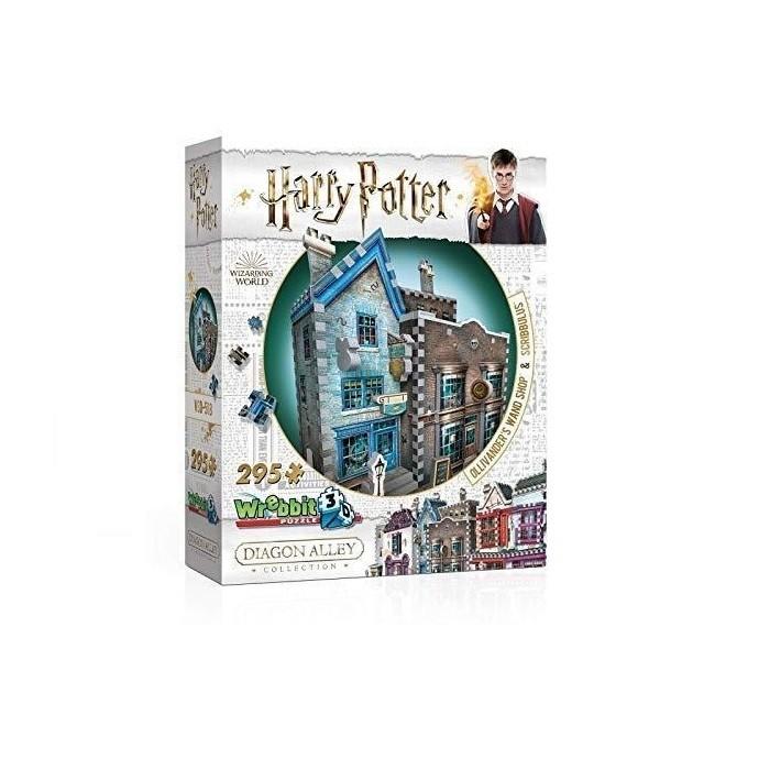 Harry Potter Puzzle 3D 295 Pçs- Olivaras e Scribbulus - Galápagos