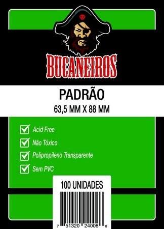 Sleeves: Protetor de Cartas PADRÃO (63,5x88) - Bucaneiros