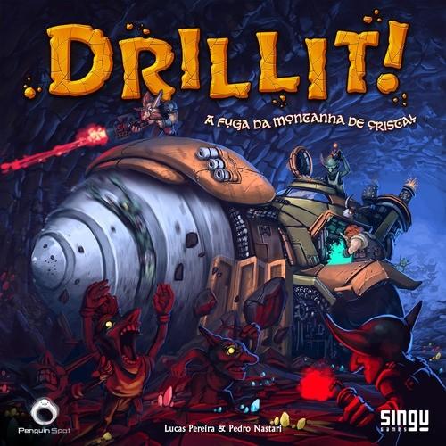 Drillit - Fuga da Montanha de Cristal - Papaya