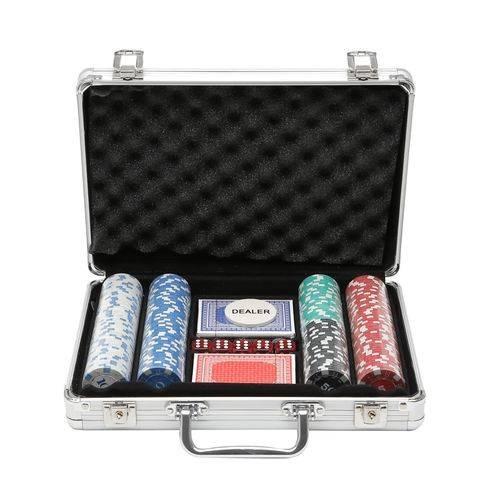 Jogo De Poker Profissional 300 Fichas Prestige - R7512