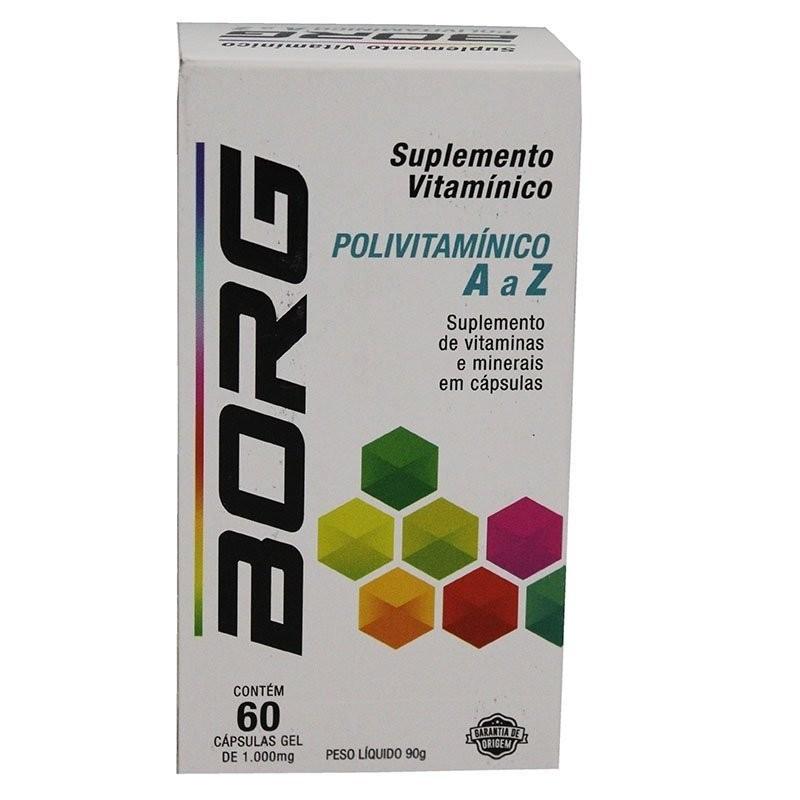 Suplemento Vitamínico Polivitamínico A a Z - BORG