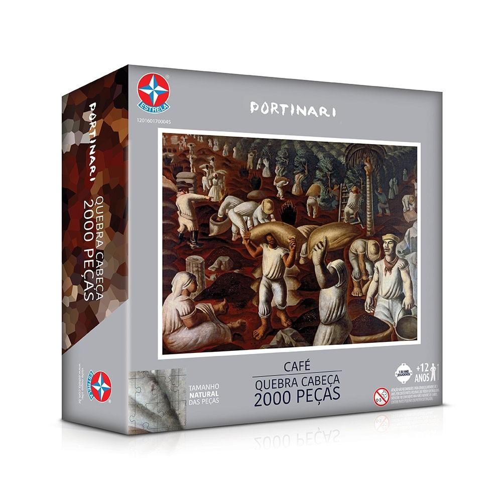 Puzzle Portinari 2000 peças - Estrela