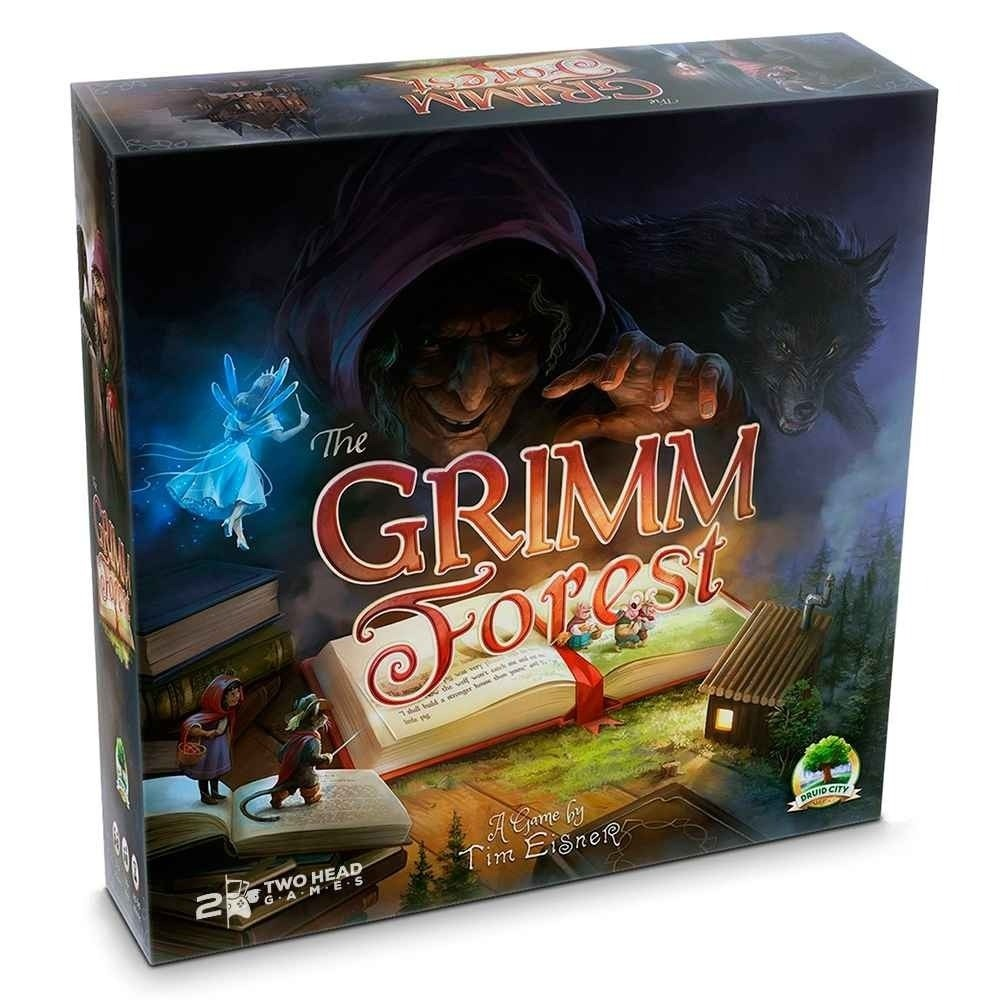 The Grimm Forest - Board Game - Wizards