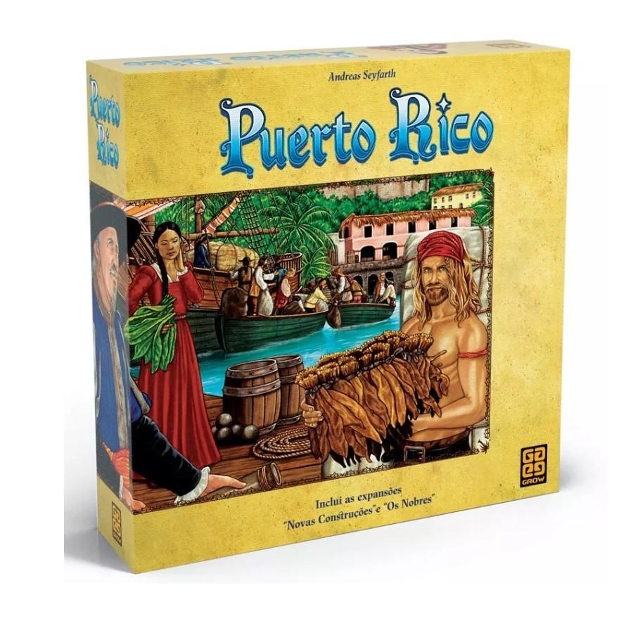 Puerto Rico - Jogo de Tabuleiro - Grow