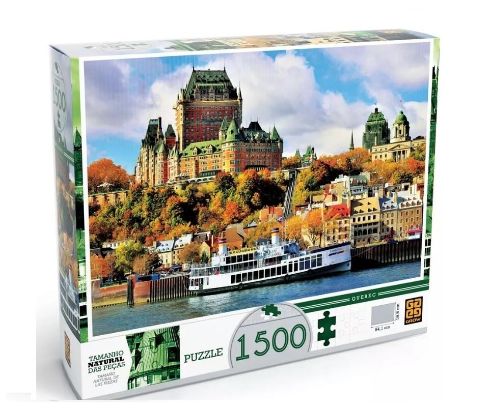 Puzzle 1500 peças Quebec Grow