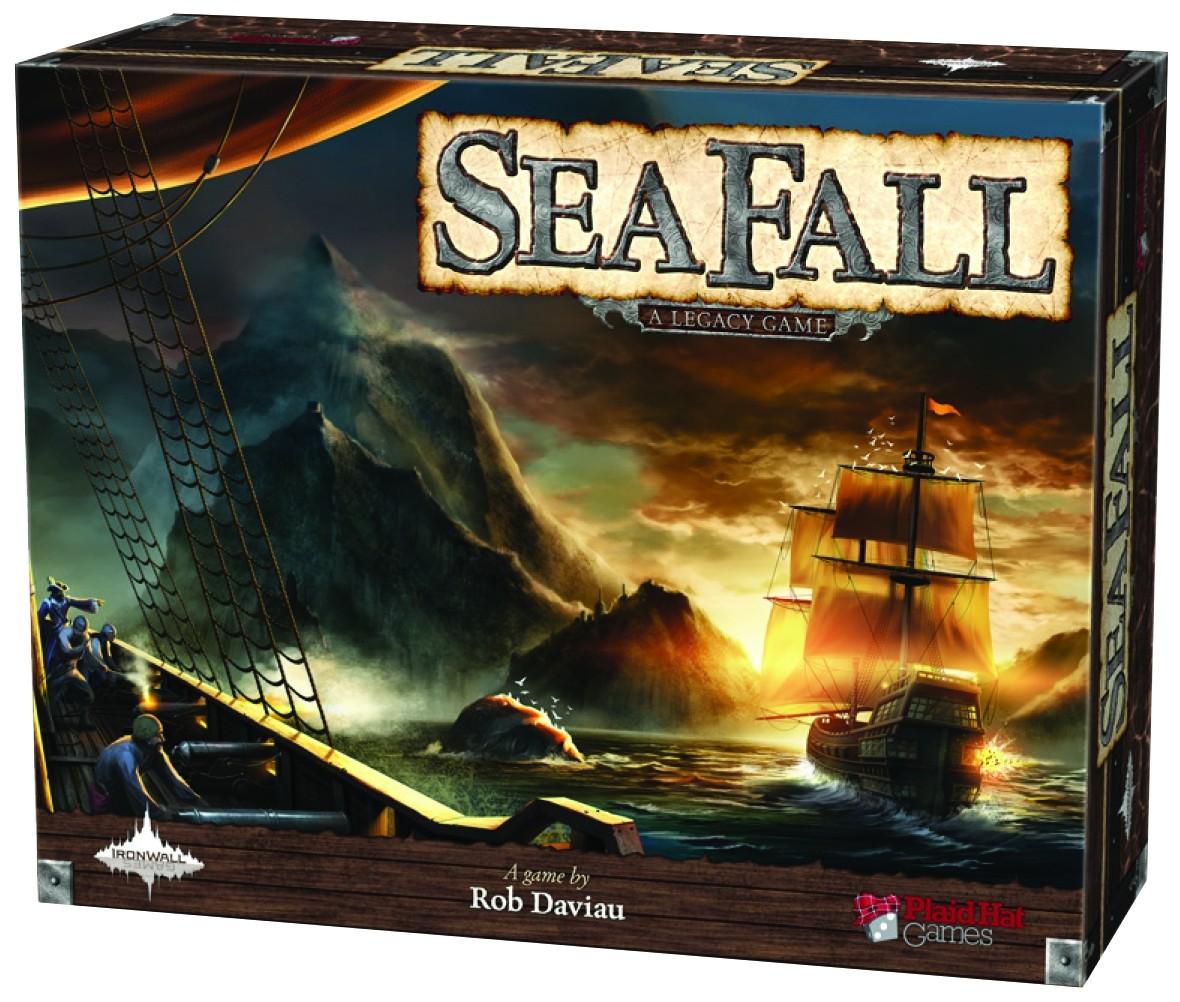 Sea Fall, jogo de tabuleiro Galápagos