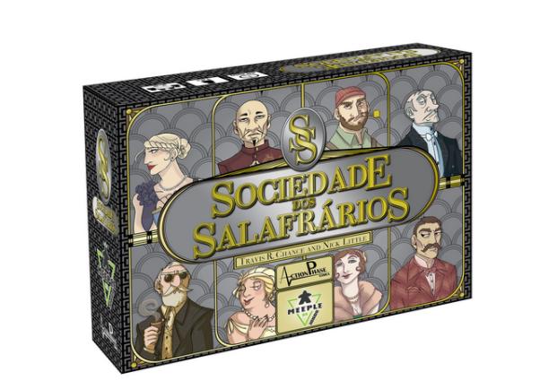 Sociedade dos Salafrários - Jogo de cartas (Boardgame) - Meeple Br