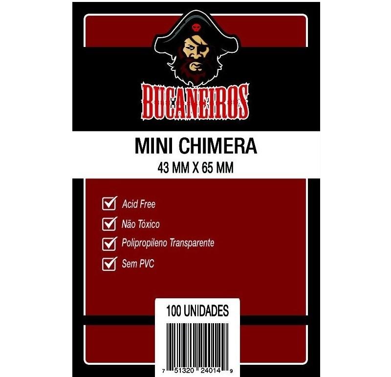 Sleeves: Protetor de Cartas MINI CHIMERA (43 X 65) - Bucaneiros