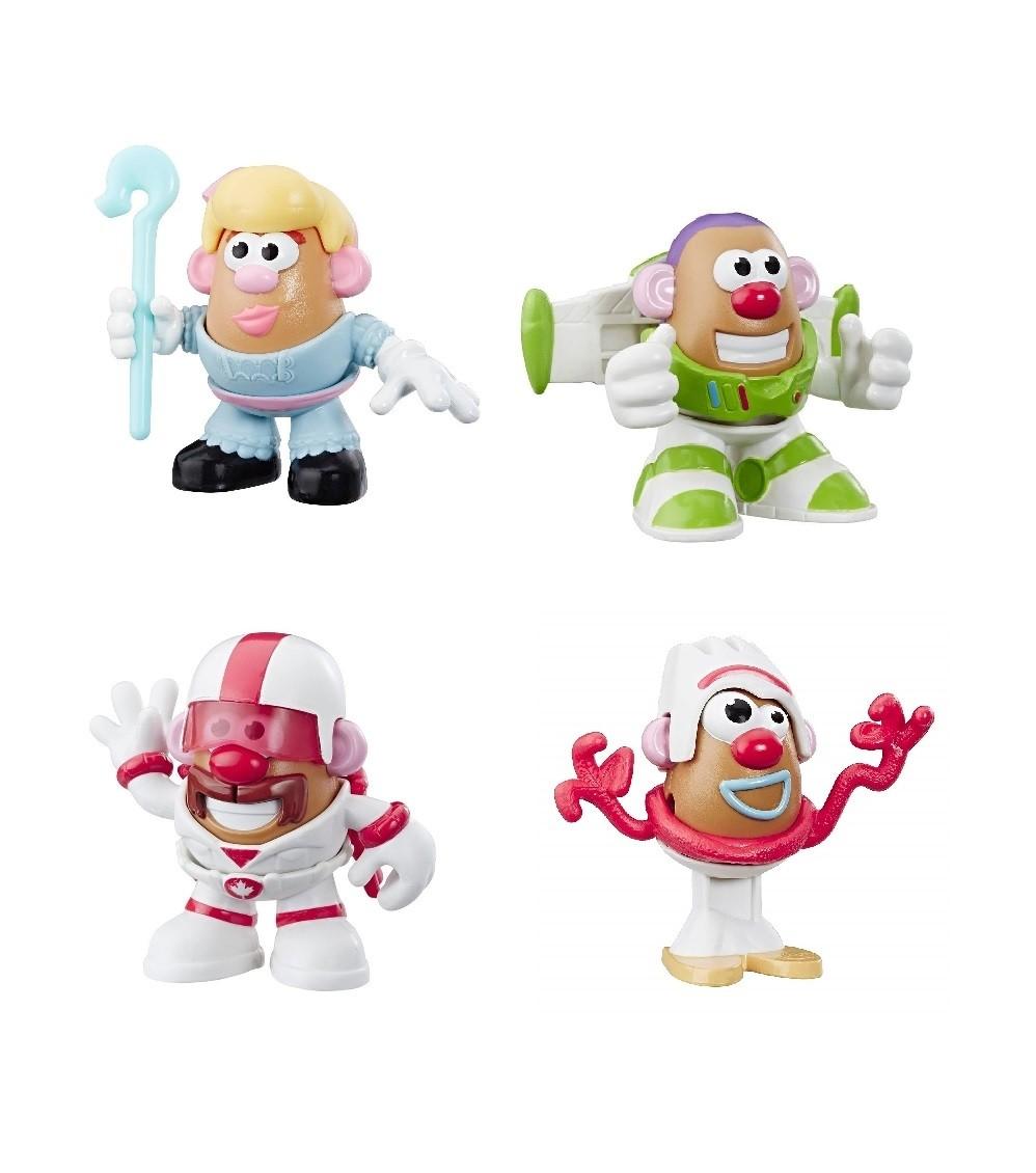 Combo 4 Boneco Mr Potato Head Batata Mini Toy Story 4 - Hasbro