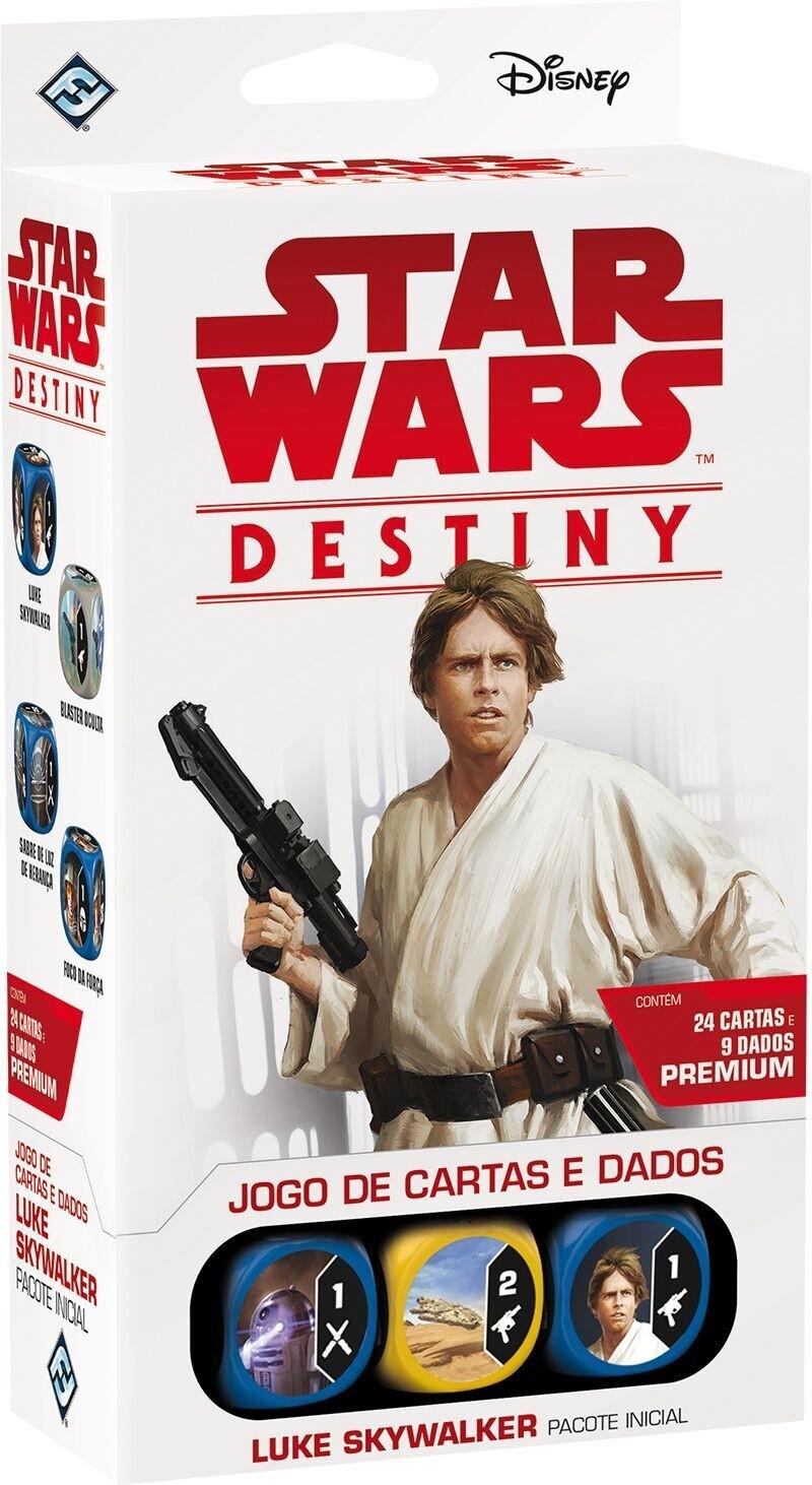 Star Wars Destiny - Luke Skywalker- Jogo de cartas e dados - Galápagos