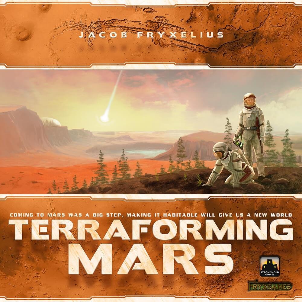 Terraforming Mars - Board Game - Meeple BR