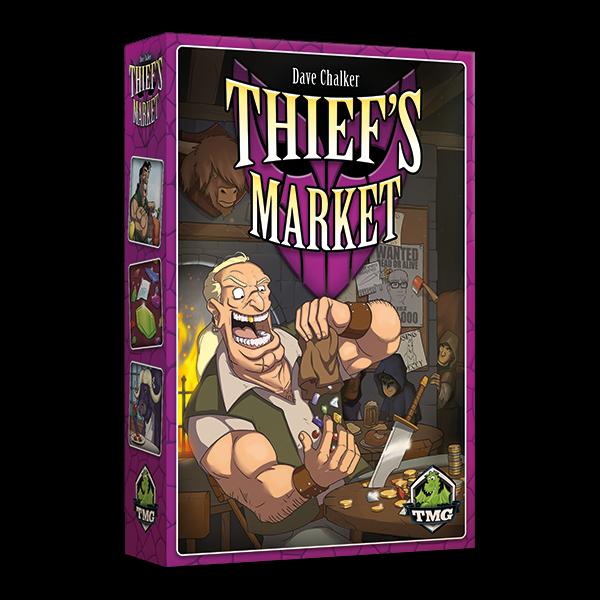 Thief's Market - Boardgame - Kronos