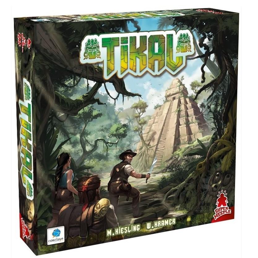 TIKAL - Jogo de Tabuleiro (Boardgame) - Conclave