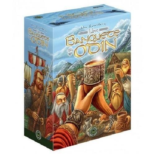 Jogo de tabuleiro: Um Banquete a Odin (incluindo Mini Expansão!) -  Grok
