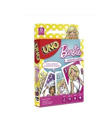 Uno Barbie - jogo de cartas - Copag