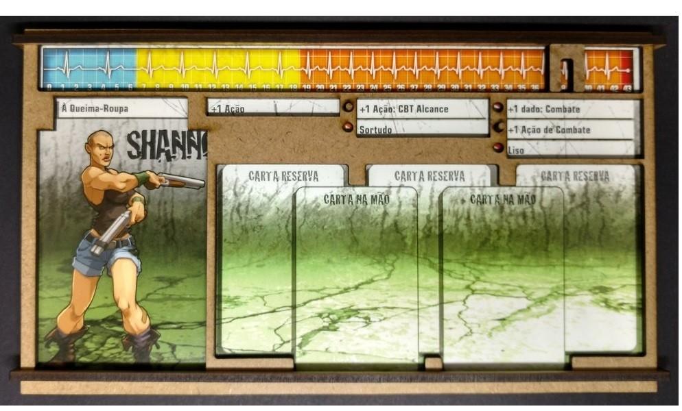Dashboard para Zombicide (1 unidades)- Bucaneiros