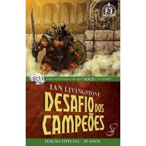 O Desafio dos Campeões - Livro-Jogo Fighting Fantasy - Jambô