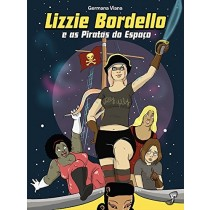 Lizzie Bordello e as Piratas do Espaço - HQ - Jambô