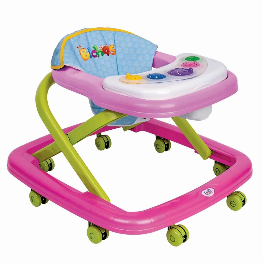 Andador Bebe Magic Baby Infantil Magic Toys Rosa
