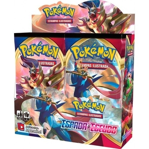 Pokémon Box Booster Espada e Escudo - Copag