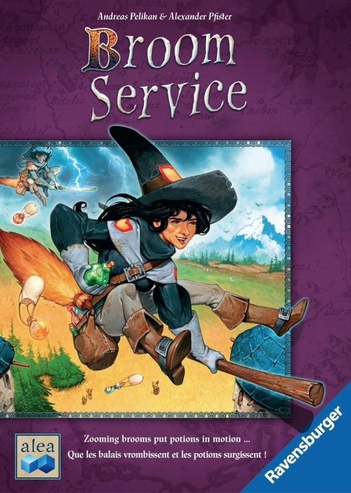 Broom Service - Board Game - Grow